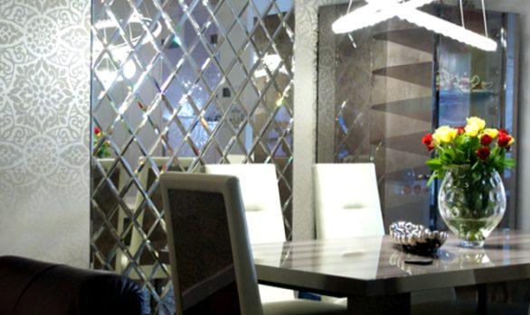 Składanka lustrzana, fazowana - lustro odbarwione